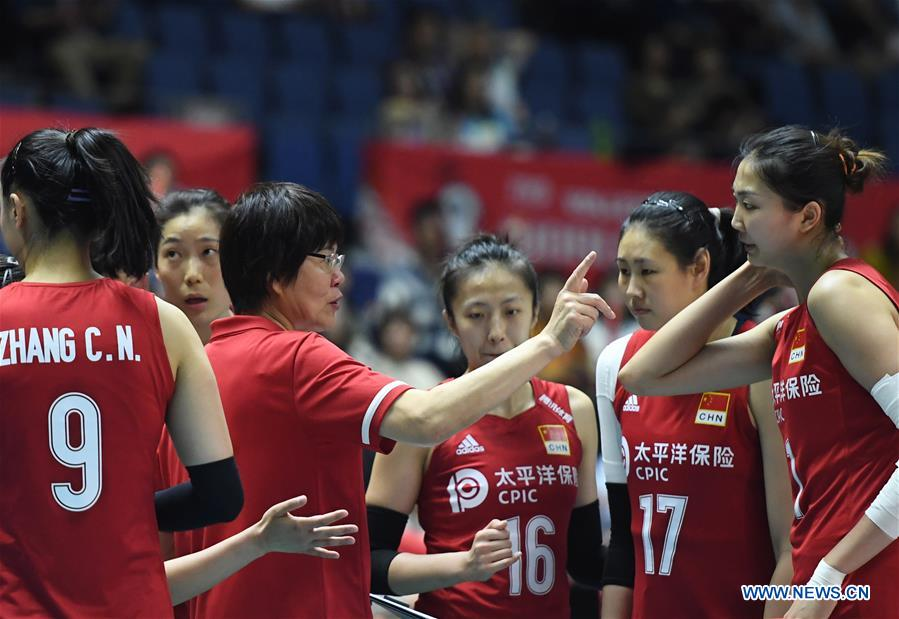 China Edges Brazil 3-2 for to Extend Winning Streak at FIVB